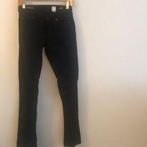 Matchstick black jeans